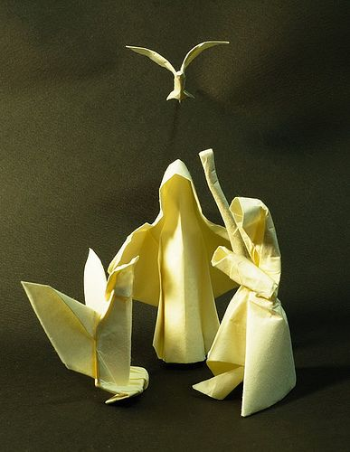 Nativity Scene By Eggorigami Via Flickr