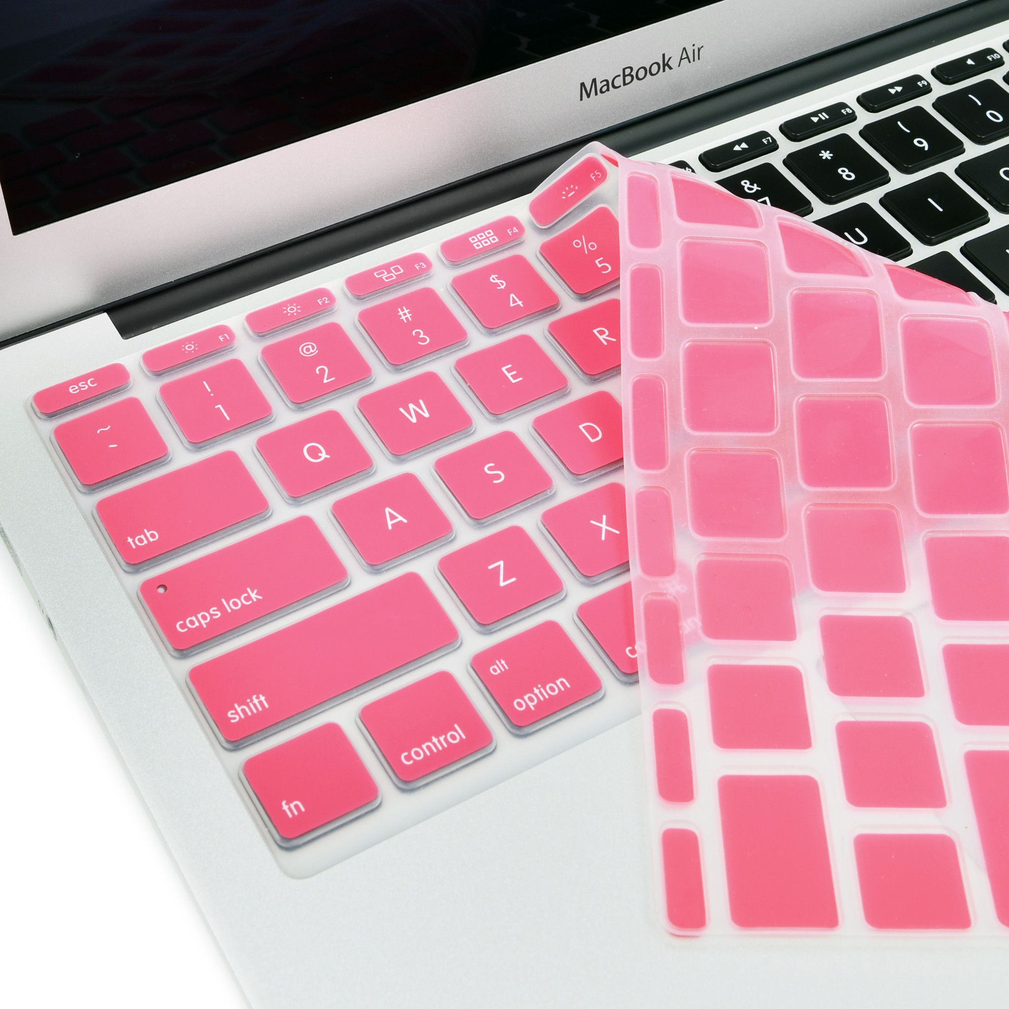 Rose Pink Keyboard Silicone Cover Skin for Macbook Air 11