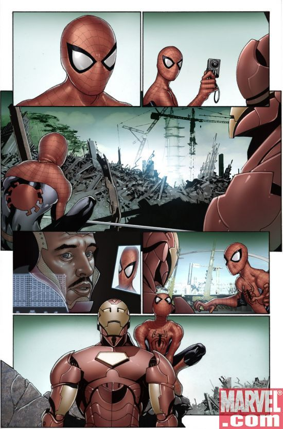 INVINCIBLE IRON MAN #7 Preview page 3
