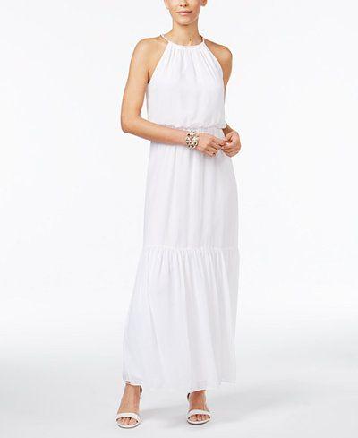 c9021cc85c584 Thalia Sodi Blouson Maxi Dress, Created for Macy's | mykonos dresses ...