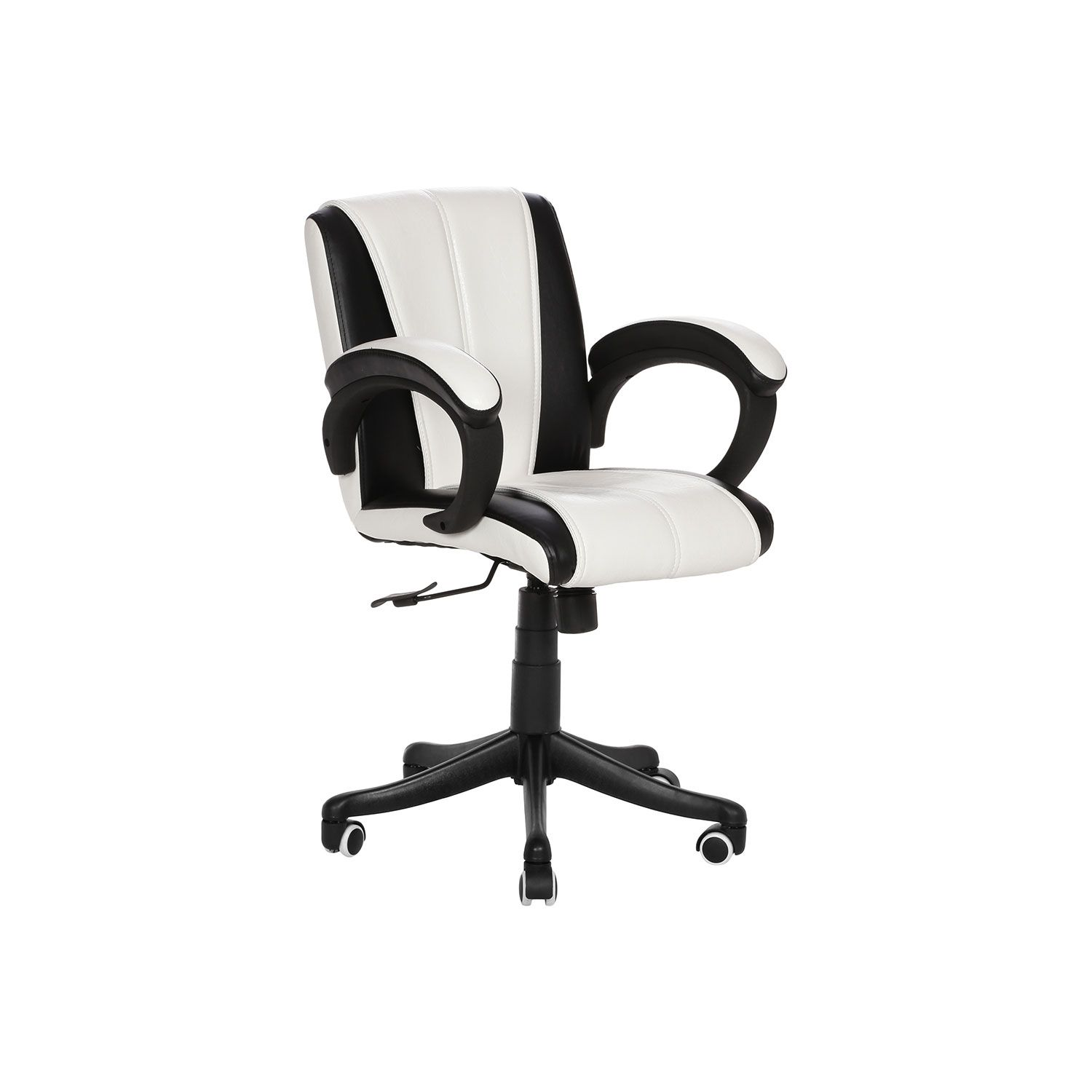 the blanegro lb workstation chair black and white office furniture