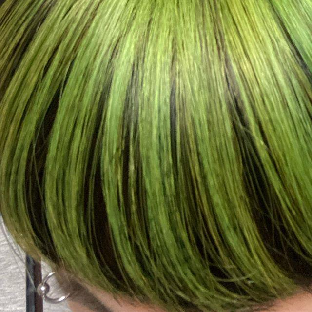 0okojimao0 Instagram 久しぶりに髪を染めた 毎日楽しい ヘア