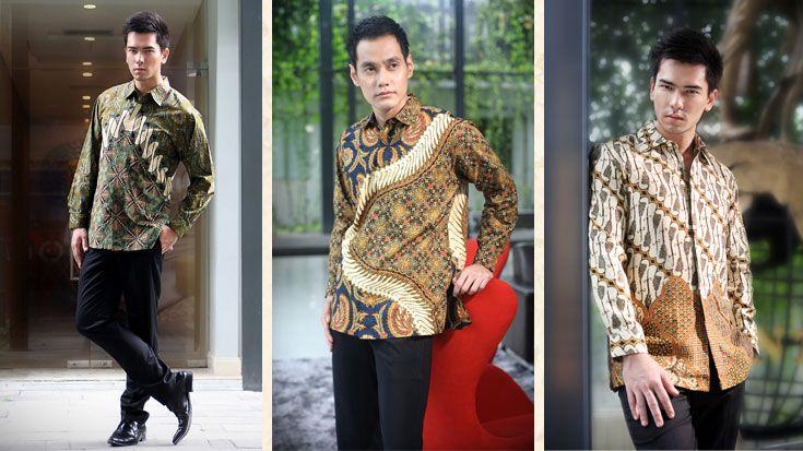 danar hadi mens batik  Batik Identity of Indonesia  Pinterest