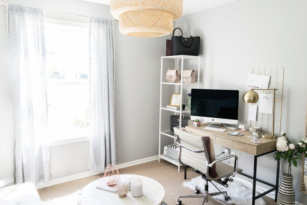 Blog Office Reveal On A Budget Office Inspo Pinterest Home