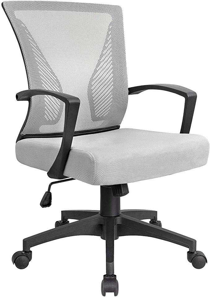 KaiMeng Mid Back Office Chair Ergonomic