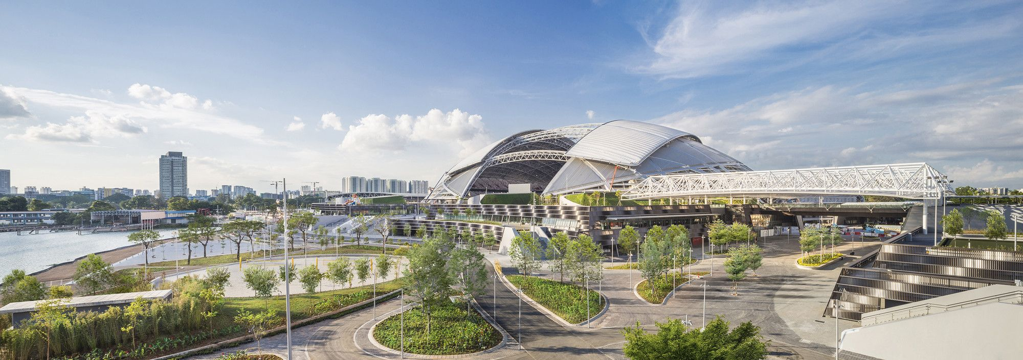 Gallery Of Singapore Sportshub Dparchitects 23 Dp Architects Singapore Dome Building