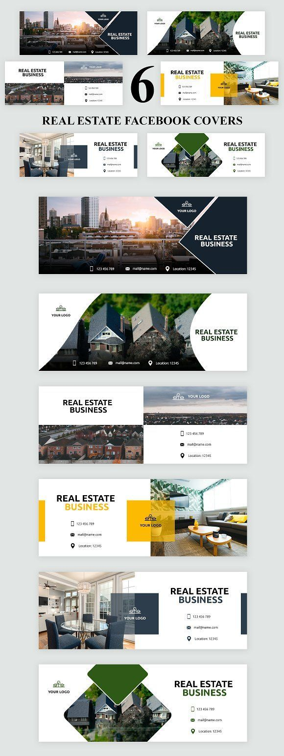 Real Estate Facebook Page Template from i.pinimg.com