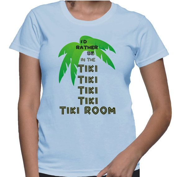 Enchanted Tiki Room I'd Rather Be in the Tiki by TheBriBoutique