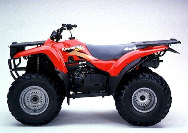 Kawasaki Prairie Tire Size