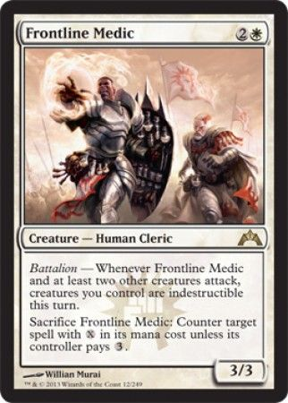 Frontline Medic - Gatecrash Singles - Gatecrash - Modern Legal Sets - Magic: The Gathering
