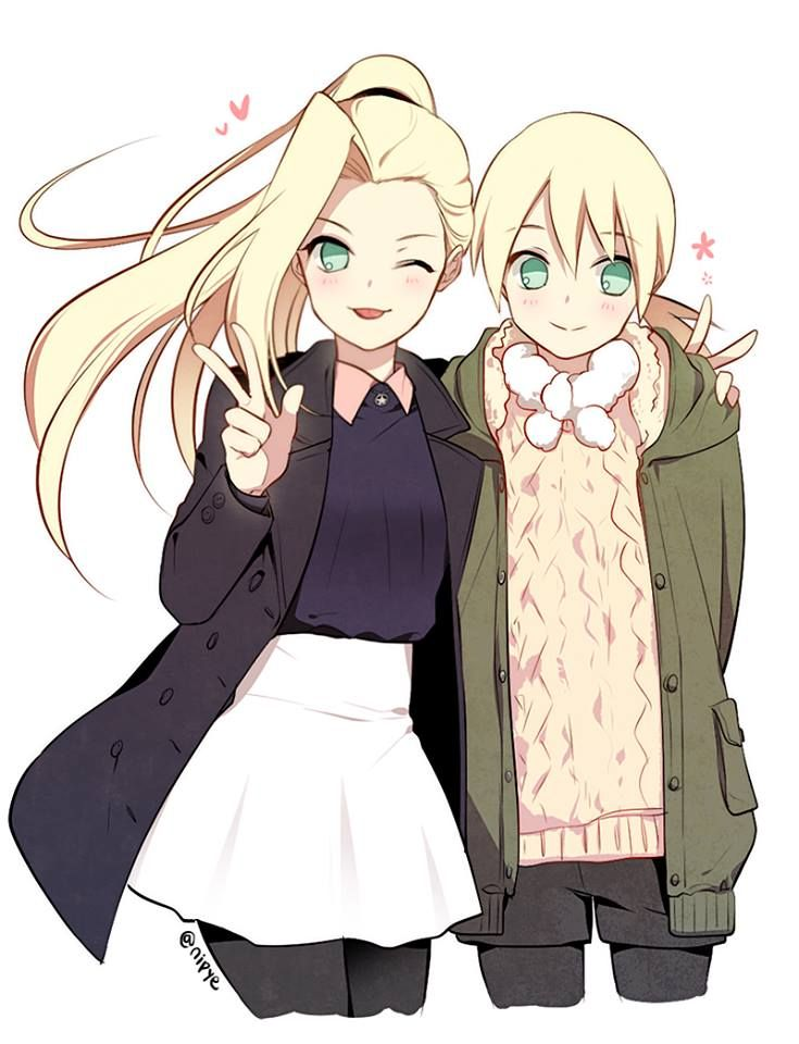Ino and Inojin =w=