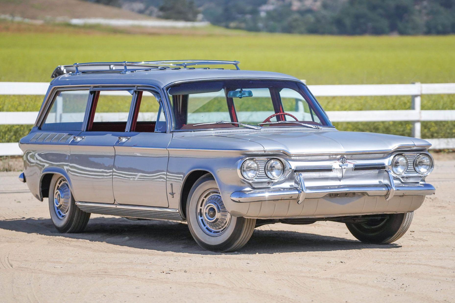 1962 Chevrolet Corvair Monza Wagon 4 Speed Chevrolet Corvair Chevrolet Wagon