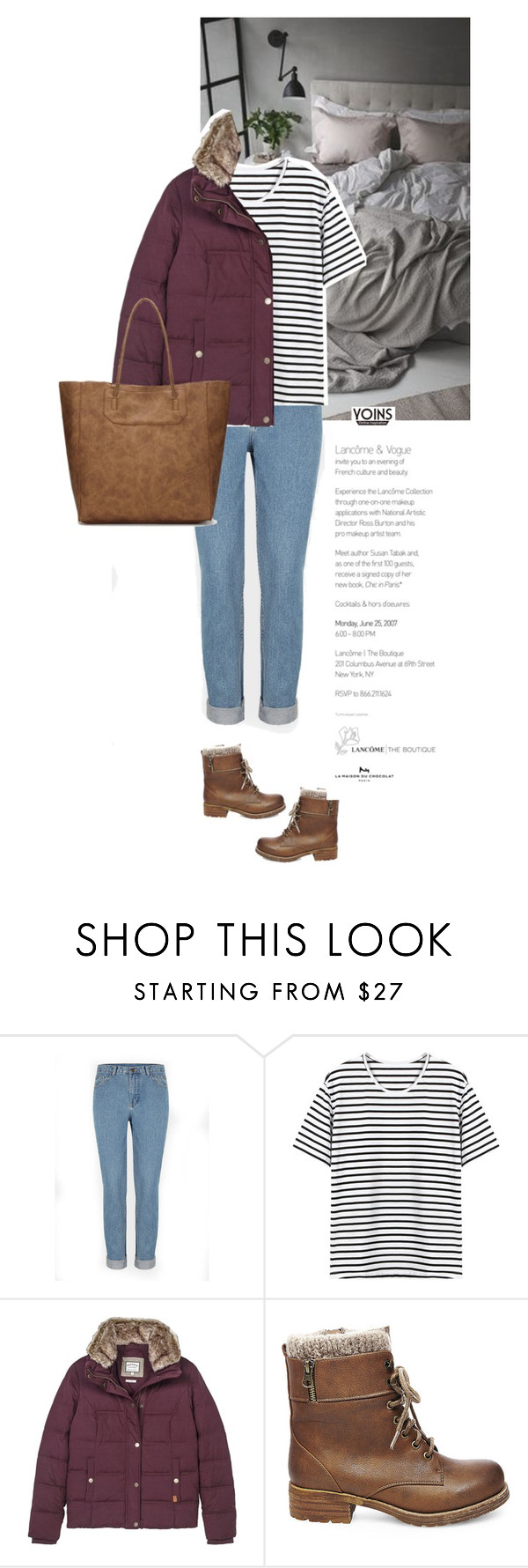 """""""YOINS"""" by s-thinks ❤ liked on Polyvore featuring Fat Face and Steve Madden"""