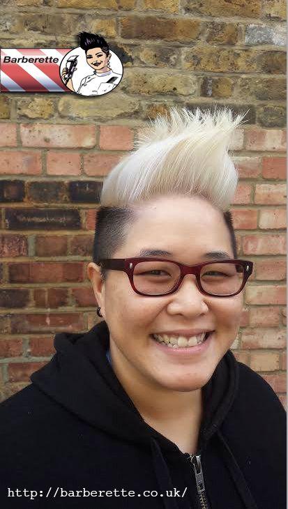 Gender Neutral Quiff Queer Community London Barberette