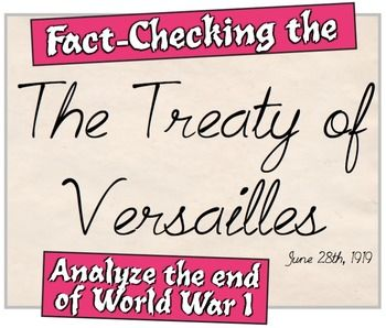 an analysis of the end of world war one and the preview of the treaty of versailles The treaty of versailles was signed on june 28, 1919, in the hall of mirrors in the palace of versailles, france it was a peace treaty signifying the end of the first world war between the triple alliance and triple entente.