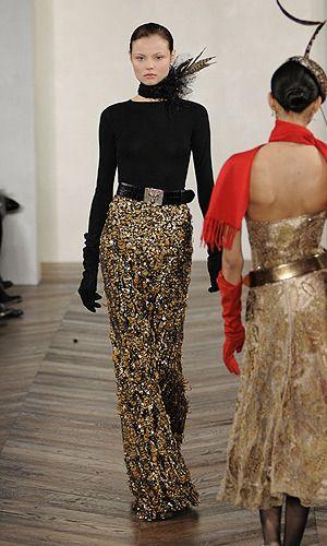 Défile Ralph Lauren Prêt-à-porter Automne-hiver 2008-2009 - Look 53