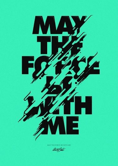 Expressive Experimental Typography Typography Poster