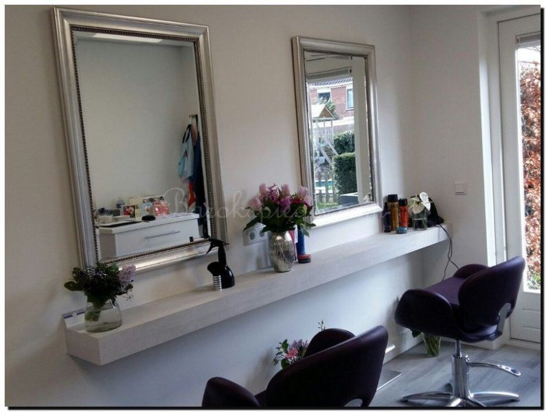 Spiegel kapsalon hairstudio paréntesisnueve