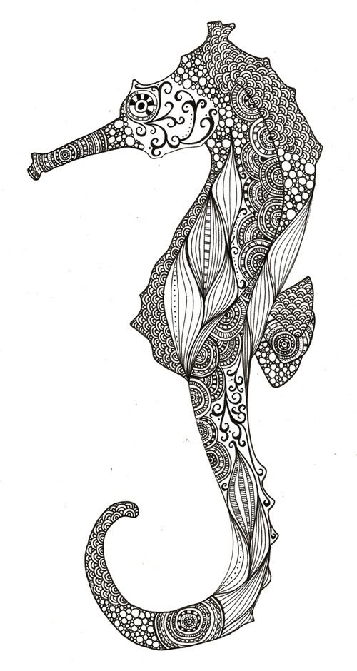 Love The Patterns In It Inspirational Tattoos Zentangle