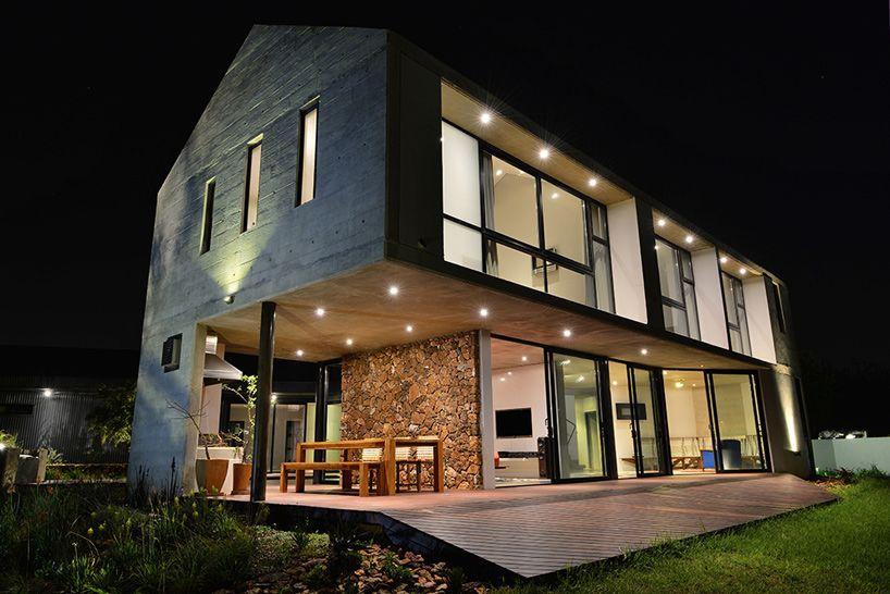 hausbau wohnungsbau sichtbeton beton bau fenster glas lotheringen, Innenarchitektur ideen
