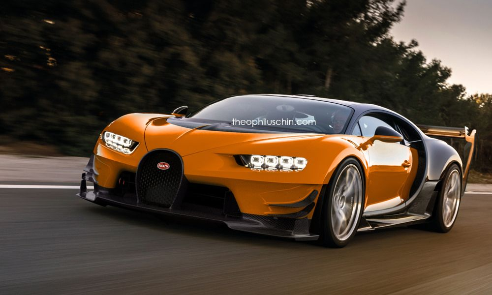 Bugatti Chiron Super Sport Dreamt Up With Vision GT Styling ...