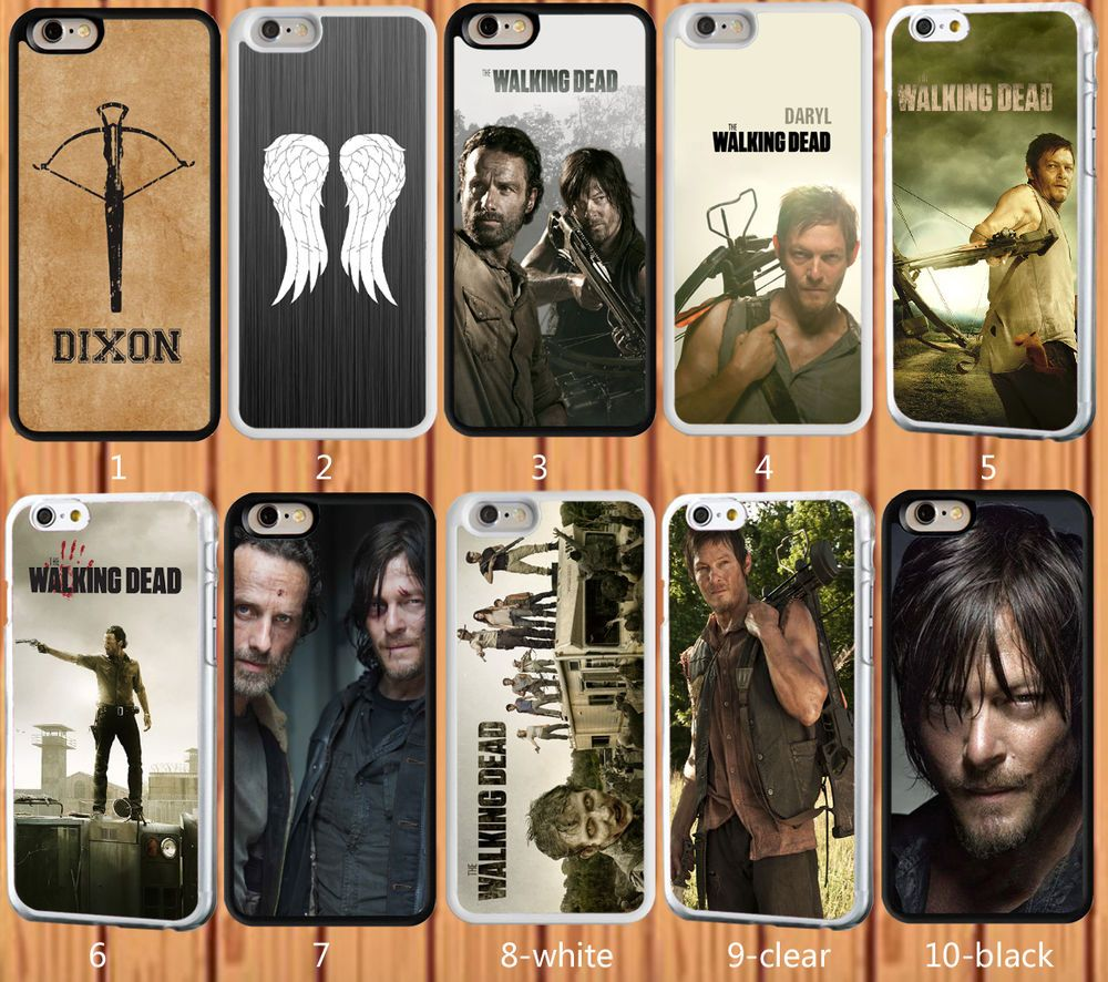 The Walking Dead for iPhone And Samsung Galaxy Series Hard Case ...