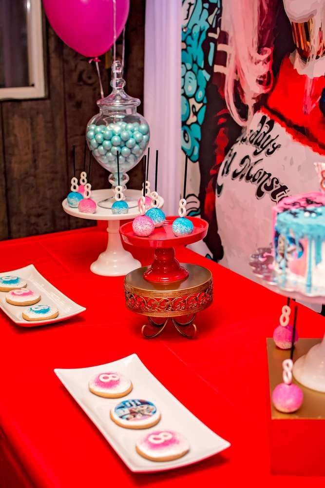 Harley Quinn Birthday Party Ideas
