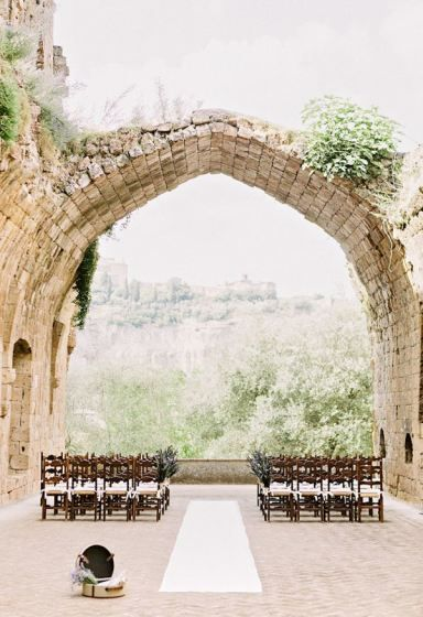 Hotel La Badia Orvieto | Intimate Italian Castle Wedding | Facibeni Fotografia | Bridal Musings - wedding photo, vintage wedding