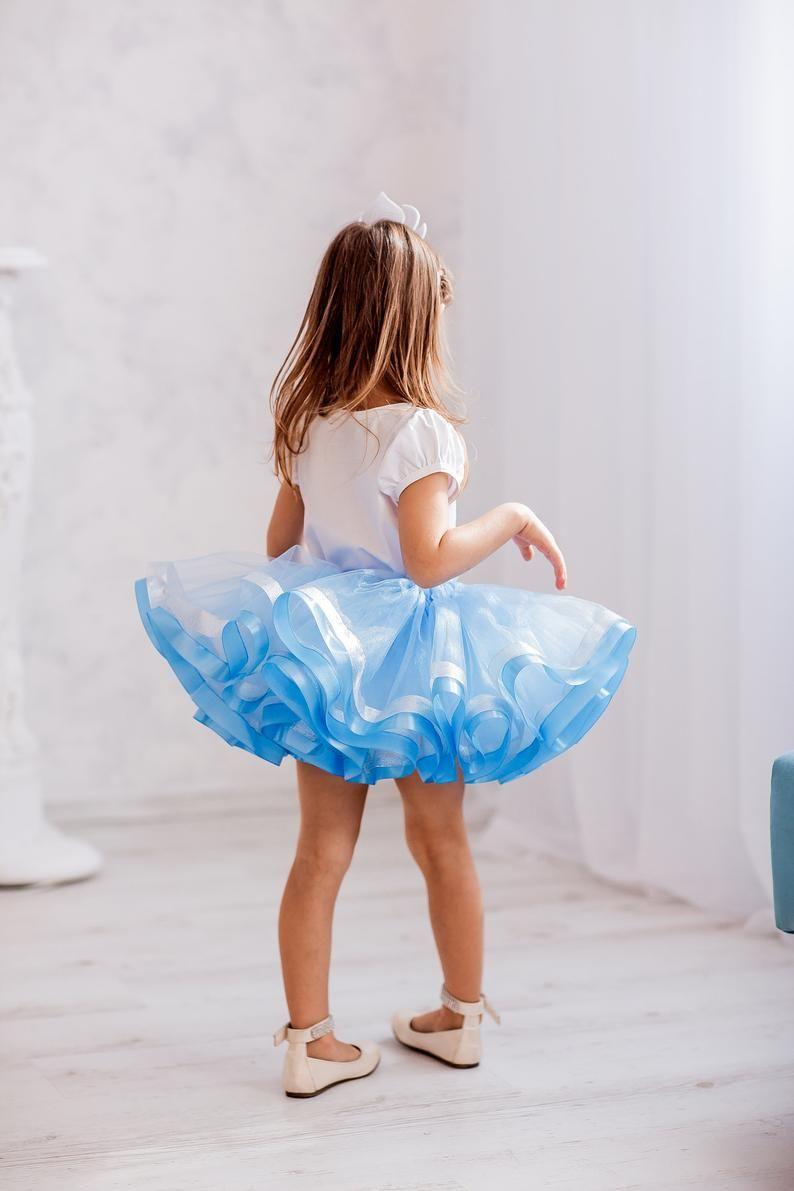 Birthday Princess Elsa Tutu Outfit, Frozen Birthday Tutu