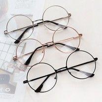 Retro Round Glasses-YL-308