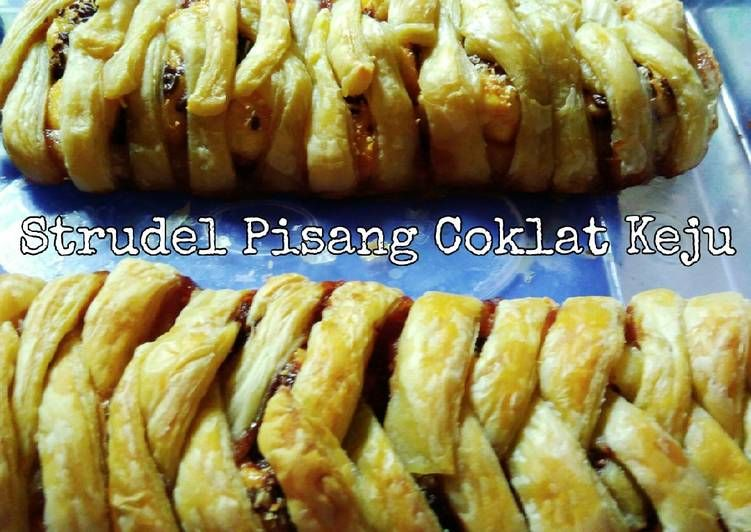 Resep Strudel Pisang Coklat Keju 12 Oleh Nila Rahmawati Resep Keju Coklat Pastry