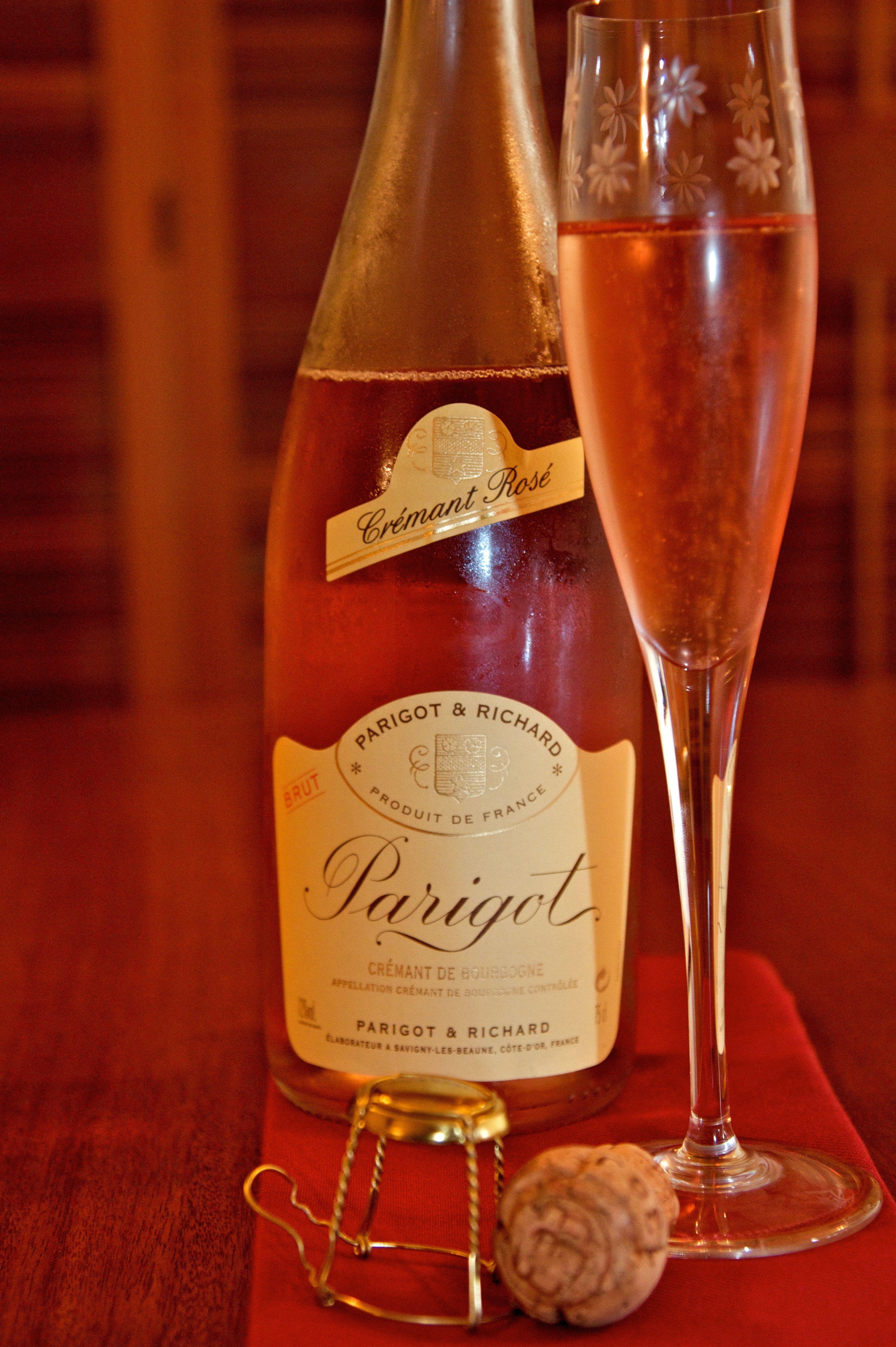 Parigot Rose Cremant De Bourgogne Wine Bottle Favorite Wine Sparkling Wine