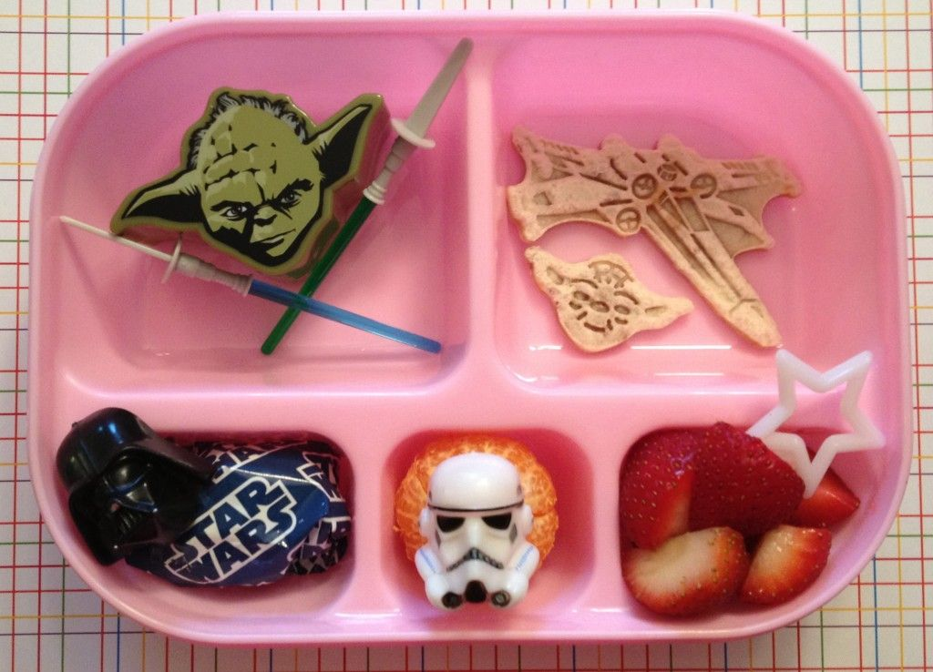 Star Wars Day Toddler Bento