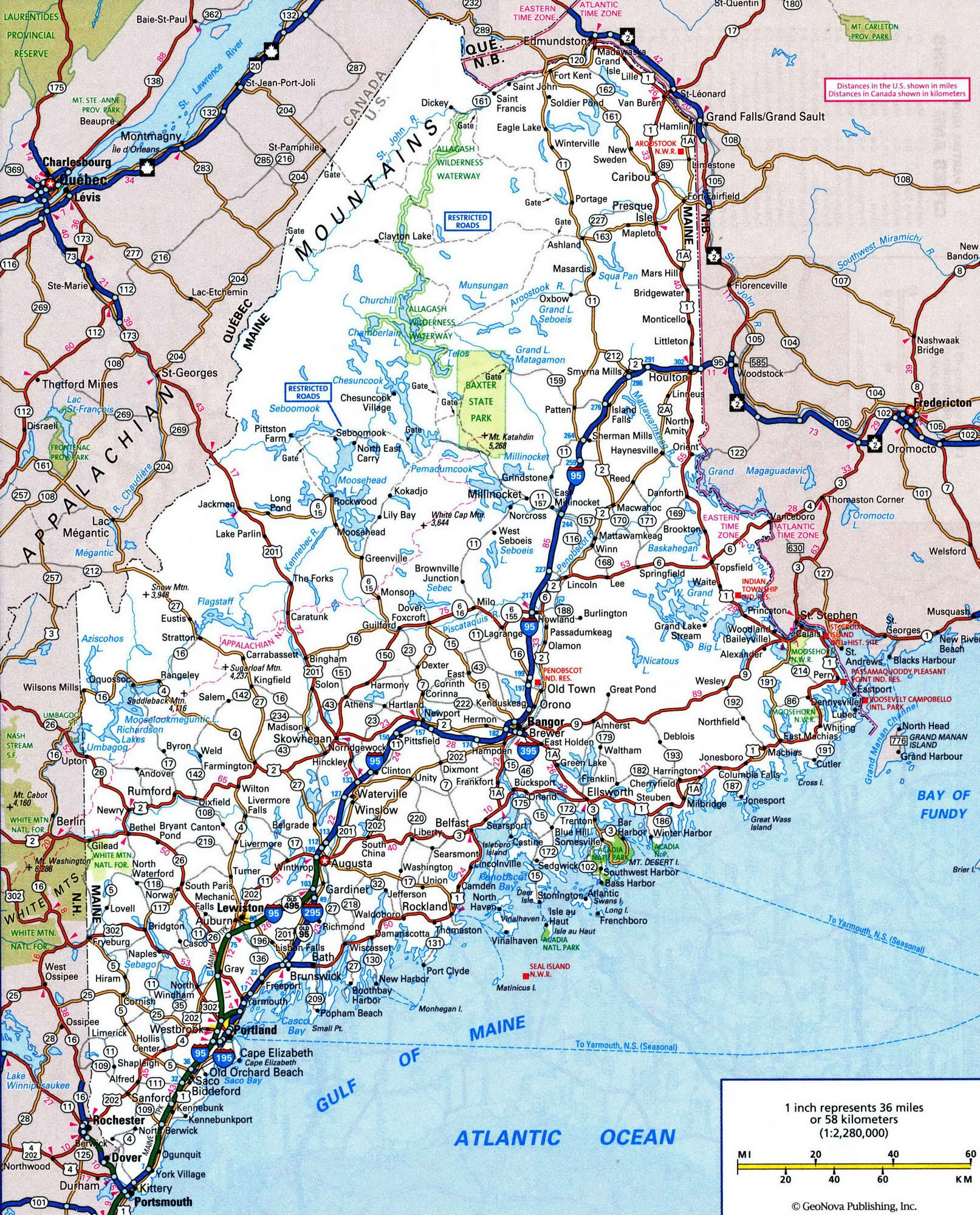 MAINE cities map - Google Search | STATES CITY MAPS | Maine, City ...