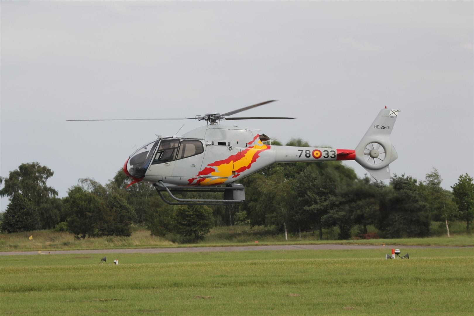 Spanish Air Force - Patrulla Aspa Helicopter Display Team