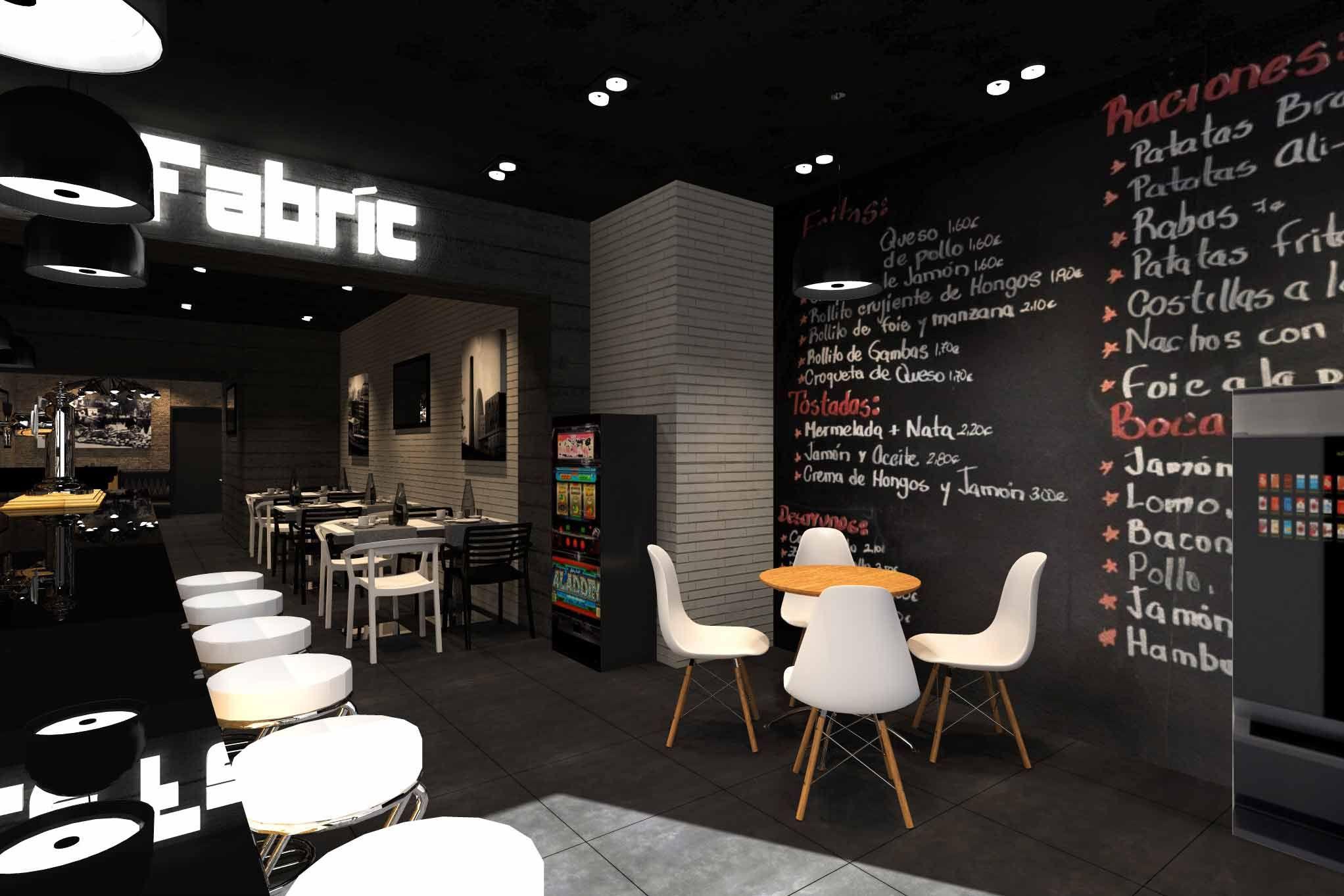 Le Industrial proyecto bar le fabric estilo industrial tematico studio ayd