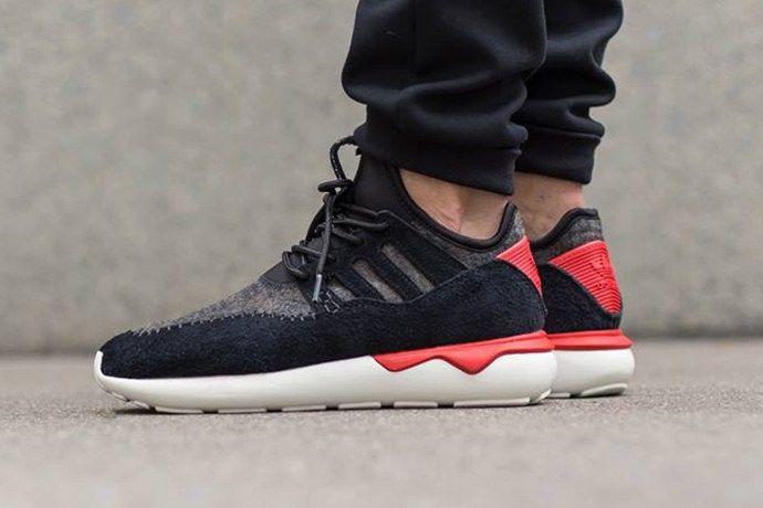 adidas Originals Tubular Moc Runner Core Black Tomato