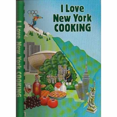 $ 5.00,I Love New York Cooking: I Love New York Cooking by The American Cancer Society (Author), 1980   free shipping, vintage collectible cook bk,  SPIRALBOUND SOFTCOVER IN VERY GOOD CONDITION~LIMITED EDITION, 1 OF 25,000 COPIES PRINTED,vintage collectible cookbook, Cover shows only minor wear on the edges ...