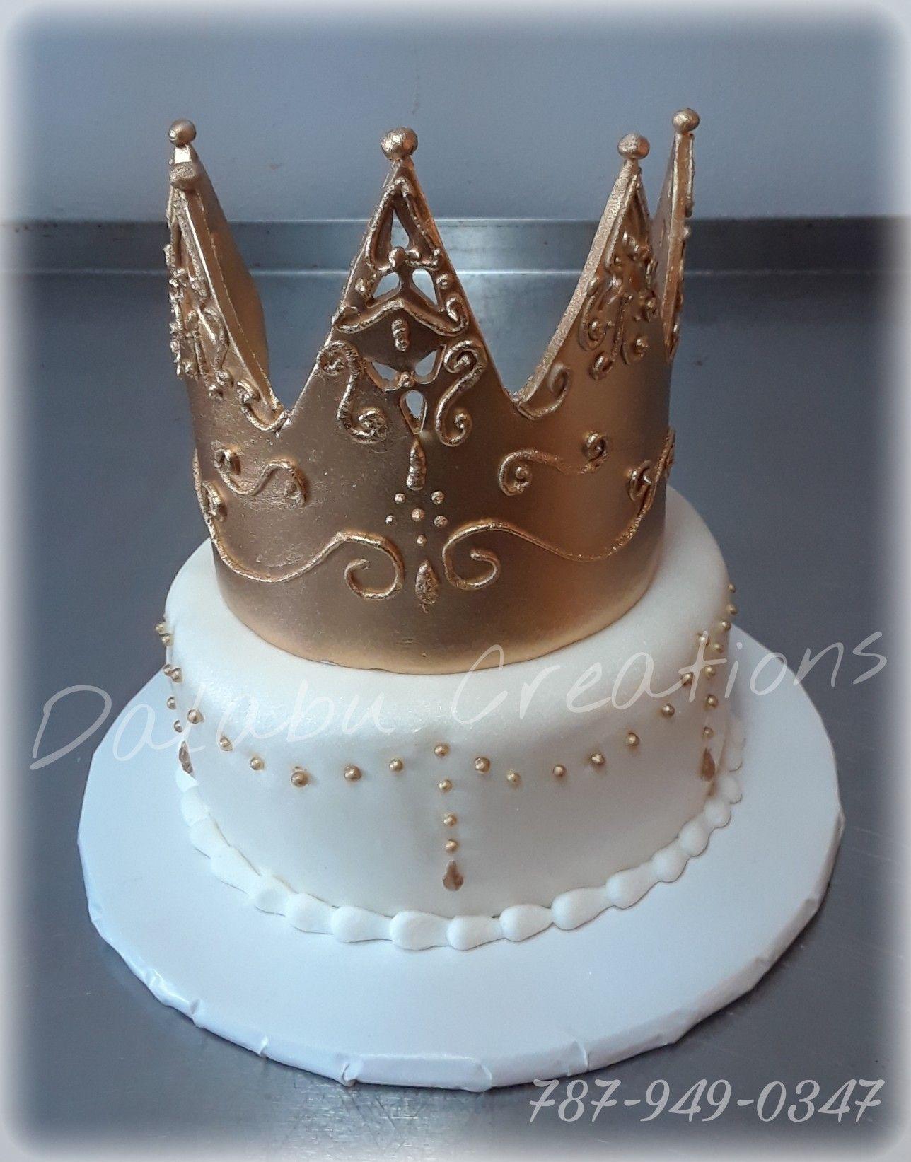 Tiara Cake (www.facebook.com/melonysdelightfulcakes (With