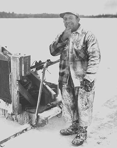 Ice Harvester if plaid wool