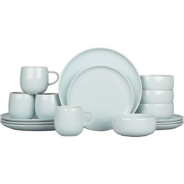 Camden Sky 16 Piece Dinnerware Set In Dinnerware Sets
