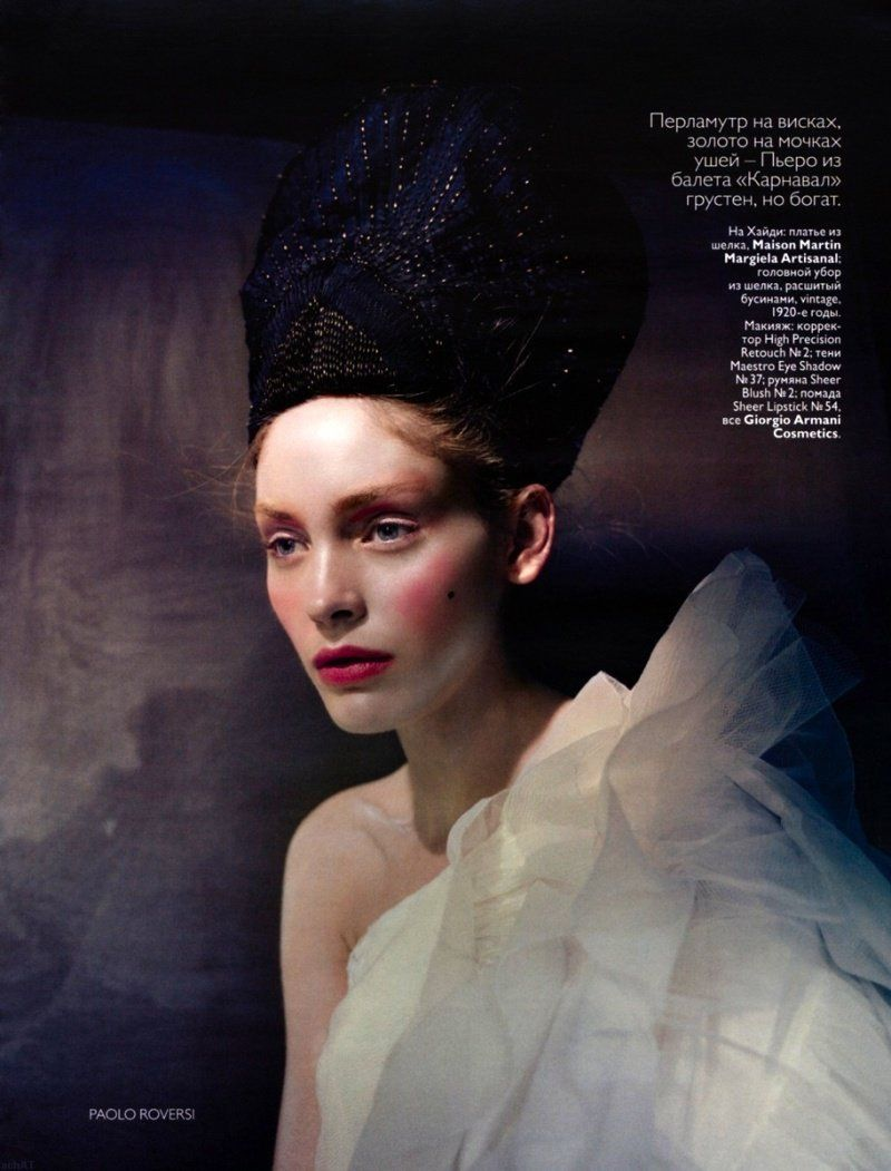 Vogue Russia - Iris and Heidi by Paolo