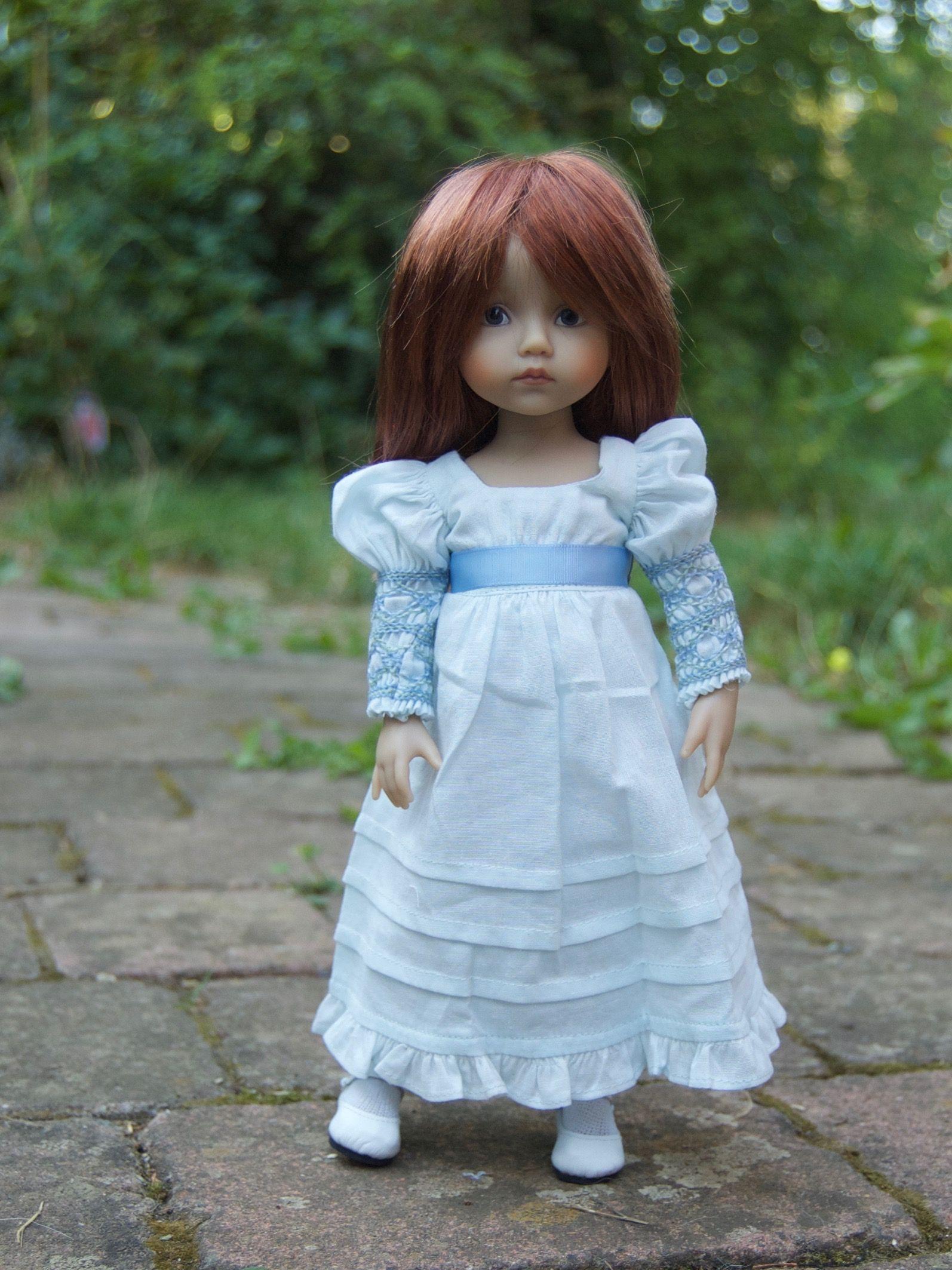 "Ellen"" L E Boneka 24cm 10"" Doll 15 Worldwide Dianna Effner"