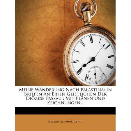 Meine Wanderung Nach Palastina : In Briefen an Einen Geistlichen Der Diozese Passau: Mit Planen Und Zeichnungen...