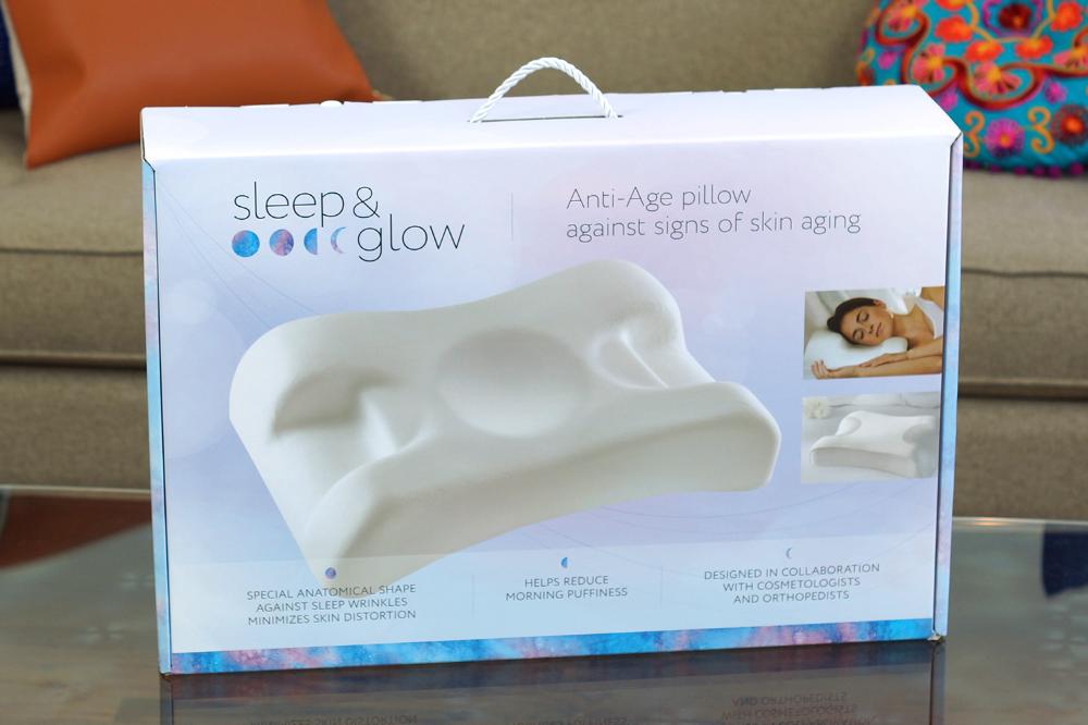 sleep glow anti aging pillow review