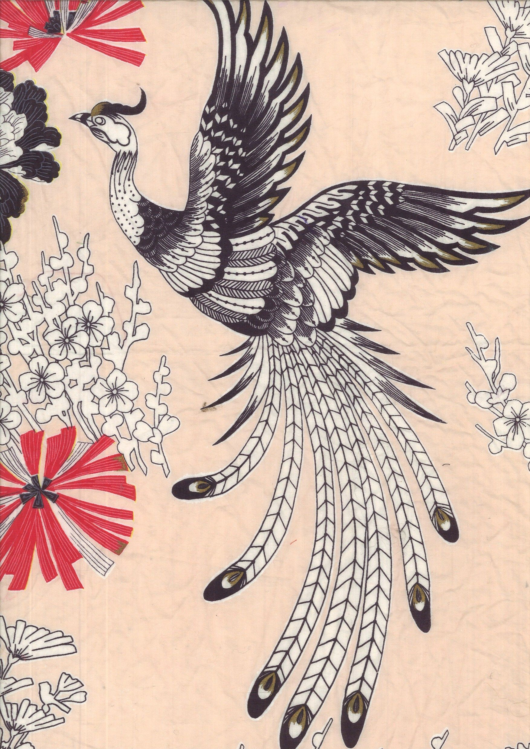 We Heart This Vintage Bird Print