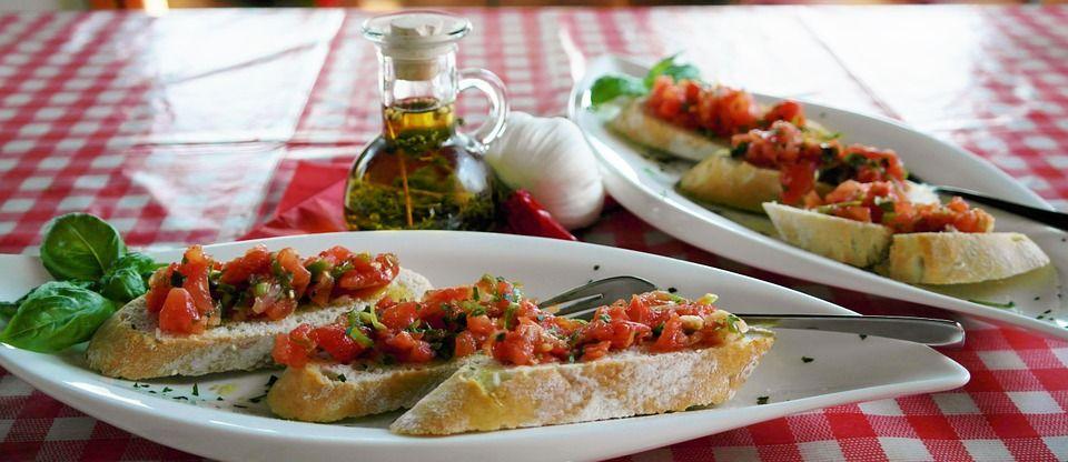 Fresh Bruschetta — easy, new recipe up on the blog!