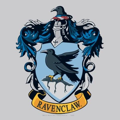 Harry Potter Gothic Ravenclaw Crest T Shirt Zazzle Com Harry