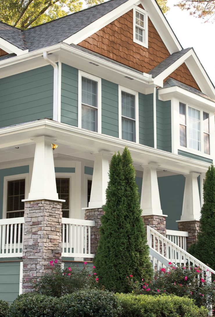 Color Of The Year In The Moment House Paint Exterior Exterior
