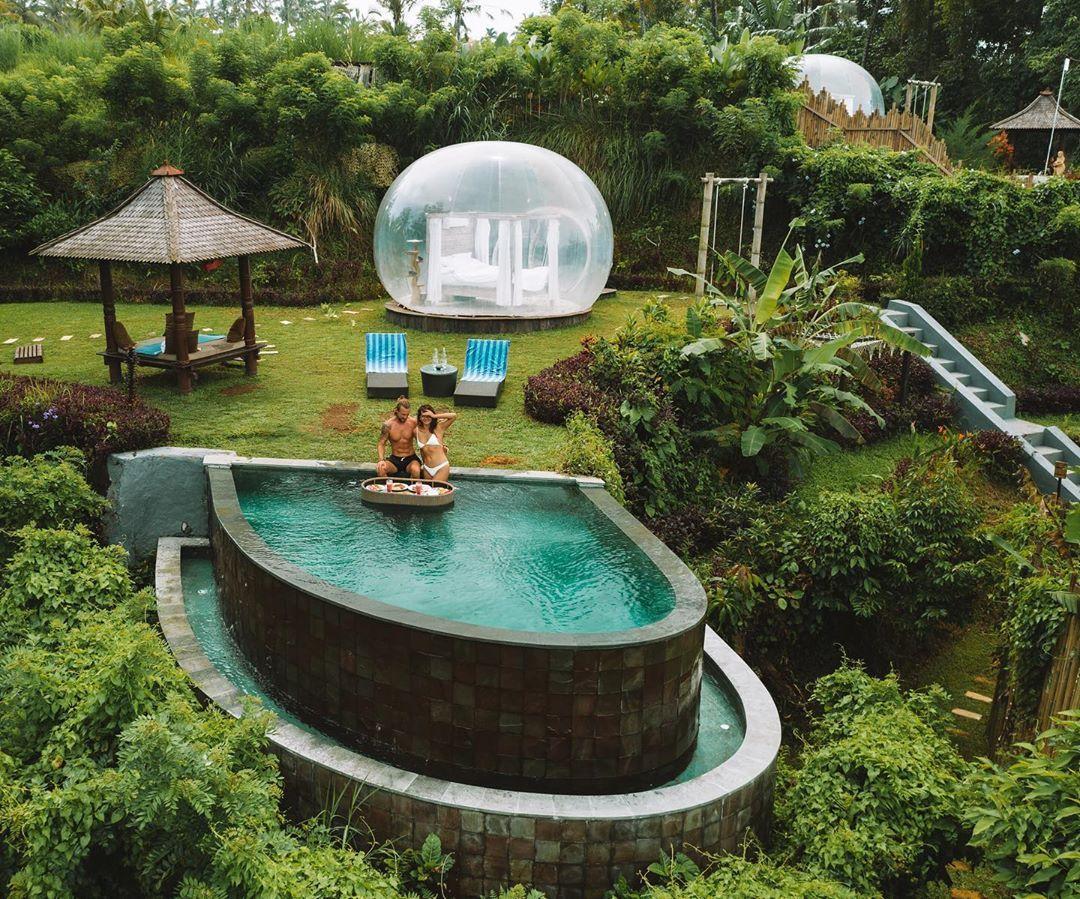 Bubble Hotel Bali In Bubble Honeymoon Locations Vacances Ile De Bali Bali